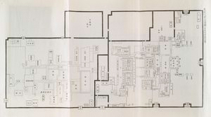 A plan of the Imperial Palace prior to the Kansei era.