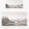 Erste Kataracte. A. Ansicht des Hafens von Suan, des Anfangs der Kataracte und der Insel Elephantine; B. Ansicht des inneren der Kataracte.
