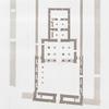 Kalapsche. Grundriss des freistehenden Monument. = Calapsché. Plan de monument isolé.