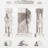 Girscheh, einzelne Sculpturen. = Guircheh, détails de sculptures.