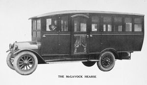 The McGavock hearse.
