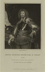 Edward Sackville, Earl of Dorset.