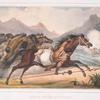 Charge de cavalerie Gouaycourous.