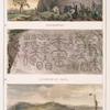 Inscription; Sculpture en creux; Village (aldea) de soldats indiens civilisés.