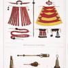 Manteaux et sceptres; Instruments de musique.