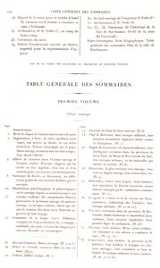 Table des planches du troisième volume (continued). [List of plates, vol. 3]