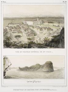Vue de chateau impérial de San... Digital ID: 1224160. New York Public Library
