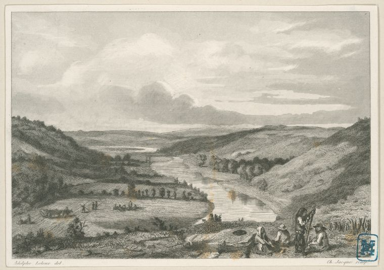 Fascinating Historical Picture of Pitre-Chevalier, 1812-1864. La Bretagne ancienne e in 1844