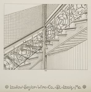 [Decorative metalwork balustra... Digital ID: 1224240. New York Public Library
