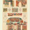 Detali stenopisi tserkvi Voskreseniia Khristova v gorode Rostove, Iaroslavskoi gubernii