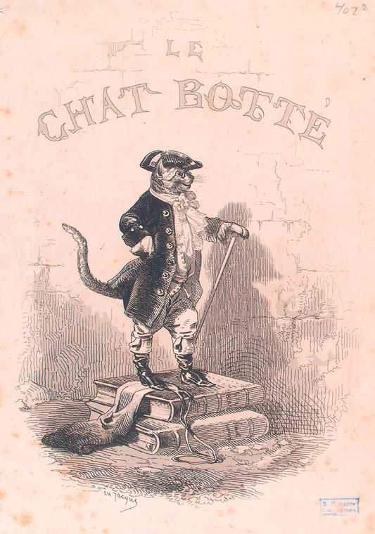 Le chat botté.