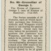 Guardsman of George I.