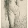 Jeune femme au bain.]