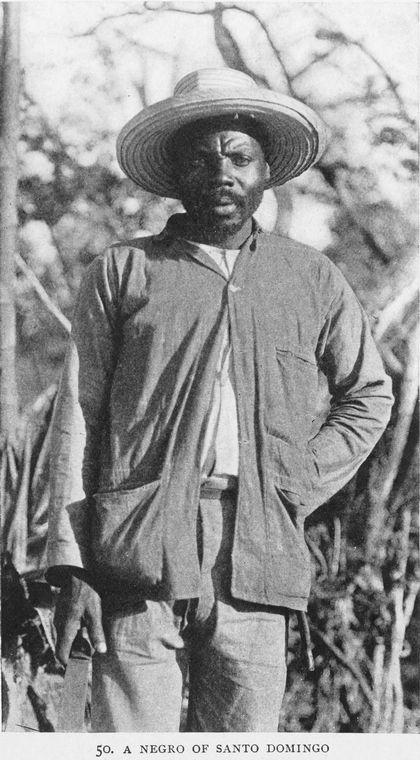 A Negro of Santo Domingo.