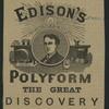 Thomas Alva Edison.
