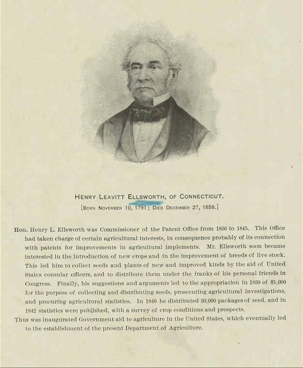 Henry Leavitt Ellsworth.