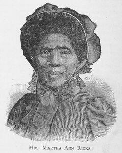 Mrs. Martha Ann Ricks. Digital ID: 1228826. New York Public Library