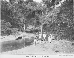 Maracas River, Trinidad.