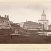 Smolensk. Kriepost postroena Borisom Godunovym i pamiatnik polkovniku Engel'gardu ubitomu pod Smolenskom v 1812 godu.