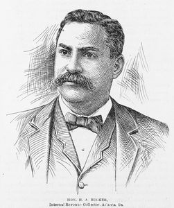 Hon. H.A. Rucker, Internal Revenue Collector, Atlanta, Ga.