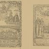 1. 1710 g. Vid Solovetskago monastyria. Vverkhu Iisus Khristos, ponizhe Solovetskie prepodobnye. 2. Solovetskie Chudotvortsy: Prep.Savvatii, Prep. Zosima, Sv. Filipp, Prep. German.