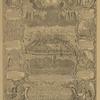 1768 g. V seredine vid Solovetskago monastyria, nad nim Preobrazhenie s 4-ia Soloverskimi sviatymi po storonam: Zosima, Savvatii, Filipp, German.