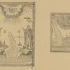 1802 g. Plan Anzerskago ostrova, po storonam prepod. Eleazar' Anzerskii i Mikhail Malein, vverkhu Sv. Troitsa.