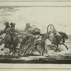 Un Treineau de ville, a 2 chevaux, d'apres Mr. A.Orlowski.