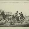 Un Drochki de Seigneur, a 2 chevaux.