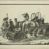 Traineaux de louage, Marchand de Poissons, etc.