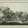 Courrier extraordinaire, a 3 chevaux, d'apres A.Ostrowski.