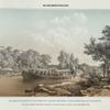 ... otpravliaiutsia iz Obiteli po monastyrskomu zalivu na nikols'skii ostrov.