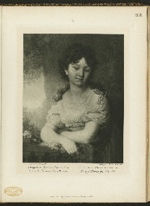 Grafinia Maria Alekseevna Orlova-Denisova, 1784-1829.