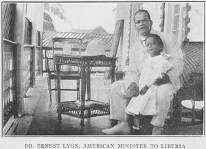 Dr. Ernest Lyon, American Minister to Liberia.