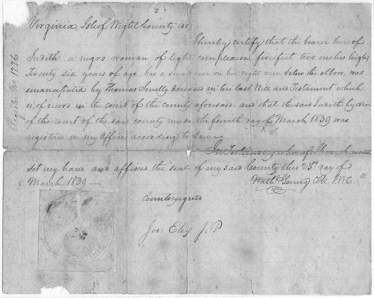 on 3/23/1839