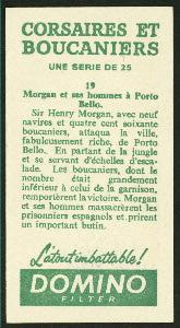 Morgan et ses hommes à Porto Bello.