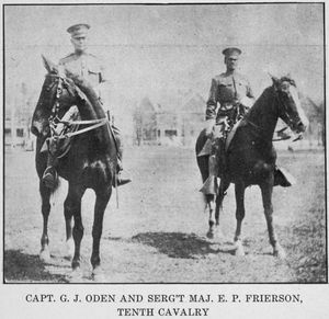 Capt. G. J. Oden and Serg't Ma... Digital ID: 1233749. New York Public Library