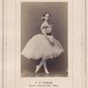 A.D. Kosheva, Baletn. Artistka Imp. Teatr.