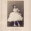 V.I. Lapshina, baletn. Artistka Imp. Teatr.