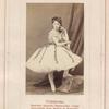 Stefanskaia, baletnaia artistka Varshavskago teatra (fotografiia G-na faiansa v Varshavie).