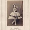 O.P.Radina 3-ia, baletn. Artistka Imp. Teatrov.