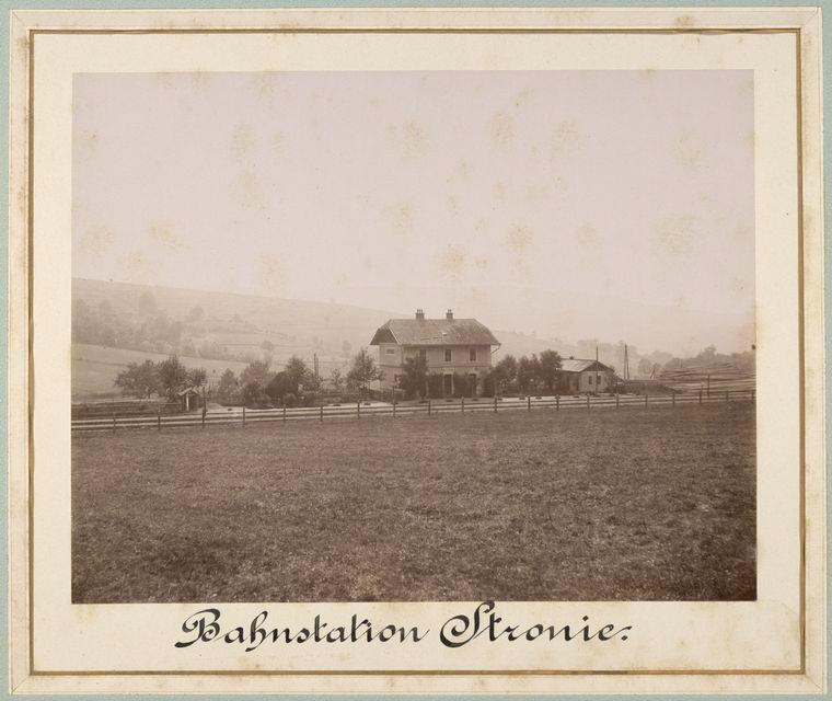 Bahnstation Stronie.