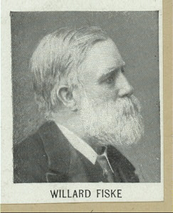 Willard Fiske.