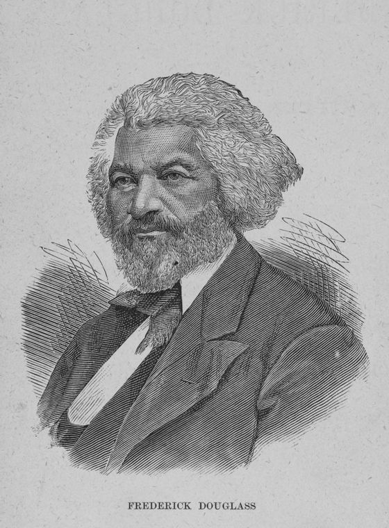 This is What Frederick Douglass and Frederick Douglass Looked Like  in 1882