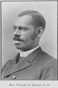 Rev. Walter H. Brooks, D.D.