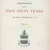 Old New York or Reminiscences of the past sixty years, Vol. I, [Title page]