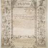 Ketubbah. Amsterdam, 1816].