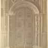Tsarskie vrata v pridele Smolenskoi Bozh'ei Materi v Pokrovskom Monastyre.