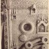 Detal dereviannykh reznykh tsarskikh vrat v tser. Ioanna Bogoslova na r. Ishne bliz Rostova Iar. gub