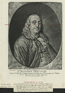 Benjamin Franklin [with fur collar].